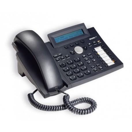 SNOM 320 V.3 VOIP Telefon (SIP) PoE o. Netzteil