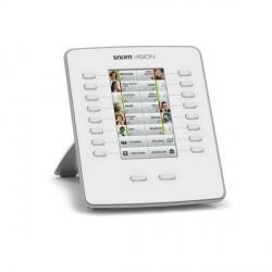 SNOM 8xx Vision Touch-Tastaturerweiterungsmodul Grau