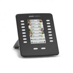 SNOM 8xx Vision Touch-Tastaturerweiterungsmodul Black