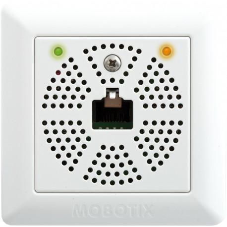 Mx2wire+ Set, Ethernet und PoE via Zweidrahtleitung