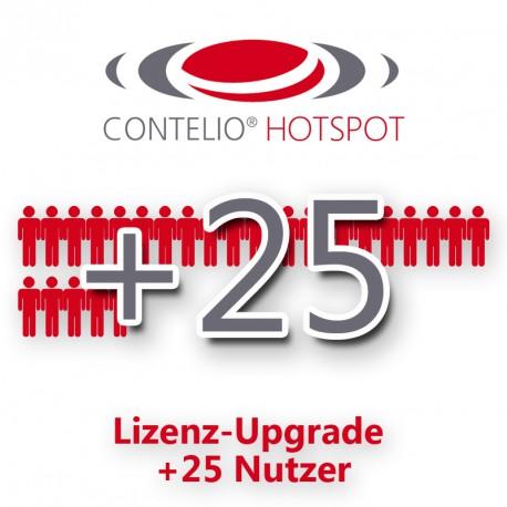 CONTELIO® HotSpot Lizenz-Upgrade um je 25 Nutzersitzungen