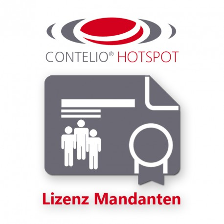 CONTELIO® HotSpot Lizenz Mandanten