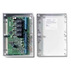 AD044 - Ein/Ausgangsmodul in IADS Bustechnik mit 4 Eingängen und 4 Relaisausgängen