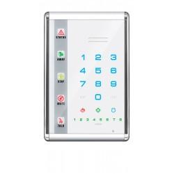 NX-1811E - Slimline Sprach LED Bedienteil mit Touch Buttons, weiß, Hochformat