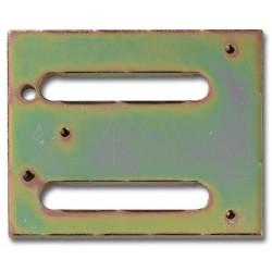 VM704P - Montageplatte zum Aufschweißen für KSM VV600-PLUS und VV700