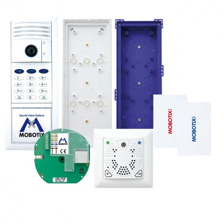 T25 6MP Set 3, Ethernet, Keypad, DoorMaster, weiß