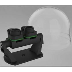 D15 Objektivträger FIX inkl. 2 Sensoren 6MP (Tag & Nacht)