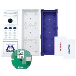 T25 6MP Set 1, Ethernet, Keypad, weiß