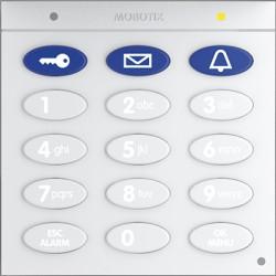 Keypad mit RFID-Technik, dunkelgrau