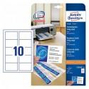 Avery Zweckform C32010-25 Visitenkarten 85x54 weiß