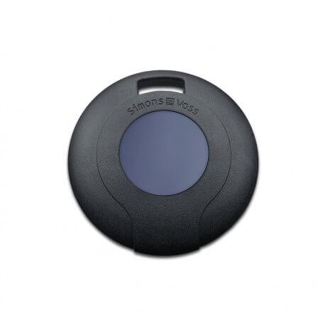 Transponder MobileKey mit blauem Taster