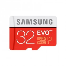 Samsung microSDHC Class 10 32GB Evo+ mit Adapter