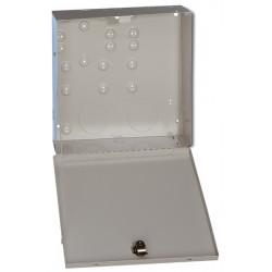 Metallgehäuse für Zubehör mit Hebelschloss ohne Deckelkontakt