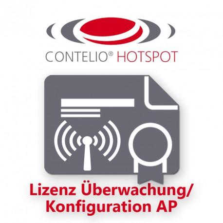 CONTELIO® HotSpot Lizenz Überwachung/Konfiguration AP