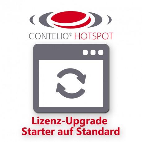 """CONTELIO® HotSpot Upgrade von """"Starter"""" auf """"Standard"""""""