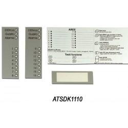 ATSDK1104 - Bedienteilaufkleber für ATS1100/1105 Bedienteil