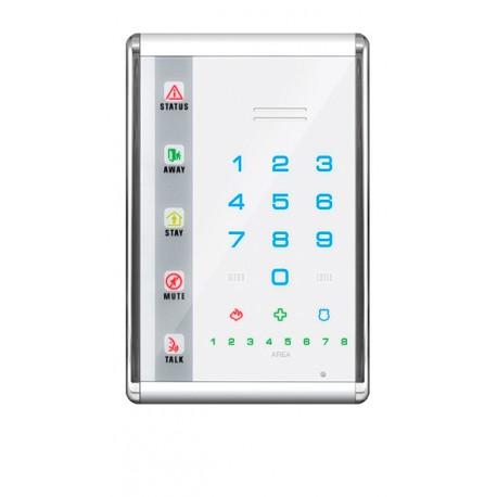 Slimline Sprach LED Bedienteil mit Touch Buttons