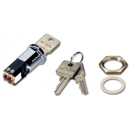 Scharfschaltzylinder inkl. 3 Schlüssel für KL838