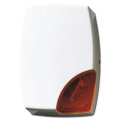AS506 - Außensirene mit Blitzlampe rot