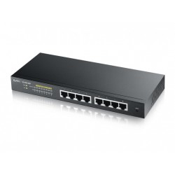 Zyxel Switch Gigabit L2 PoE smart 8xTP GS1900-8HP v2