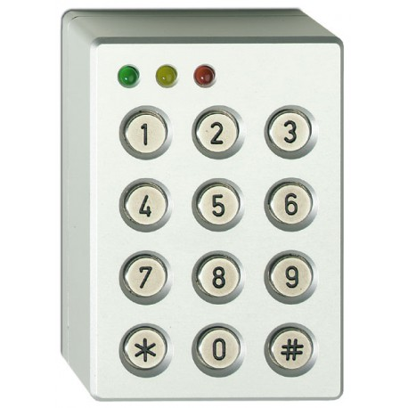 3 LED Codetastatur im Aluminiumgehäuse von UTC Fire & Security