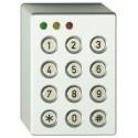 ATS1151 - 3 LED Codetastatur im Aluminiumgehäuse