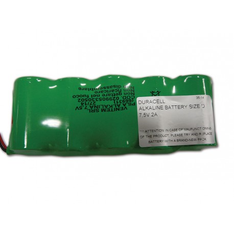 AS620RF-BP - Reserve Batteriesatz für AS620RF (Alkaline Batterien)