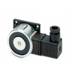 Universal Türhaftmagnet, IP65, verstellbar, mit Auslösetaster