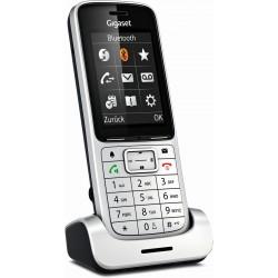 Gigaset Mobilteil SL450HX platin/schwarz (inkl. Ladeschale)