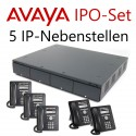 Avaya IP Office Set mit 5 IP-Telefonen (erweiterbar)
