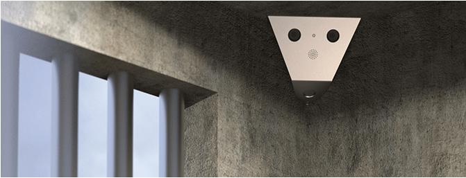 V15 V16 IP Kamera im Gefängnis