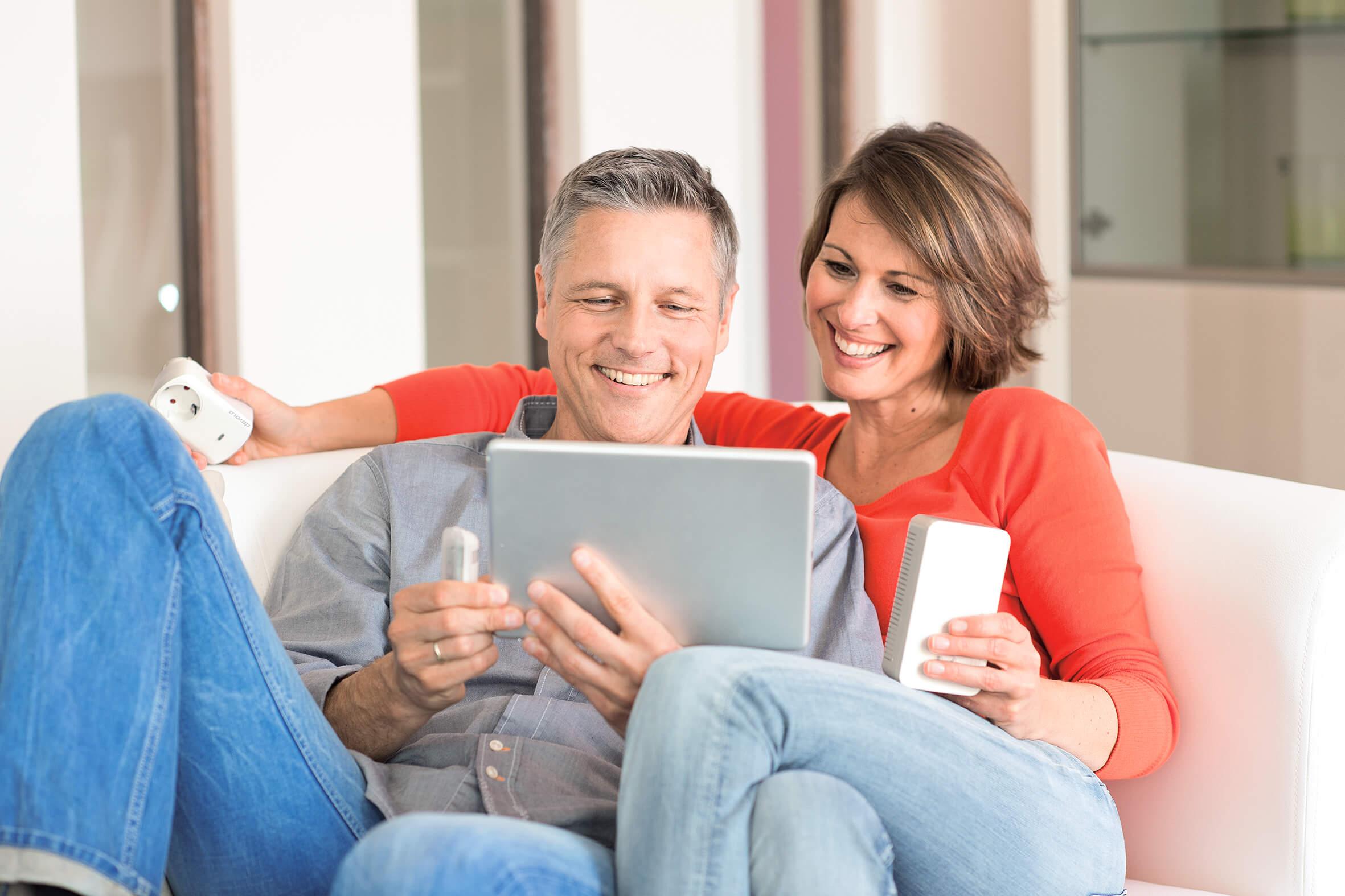 Glücklich im Smart Home
